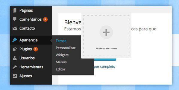 instalar plantilla wordpress