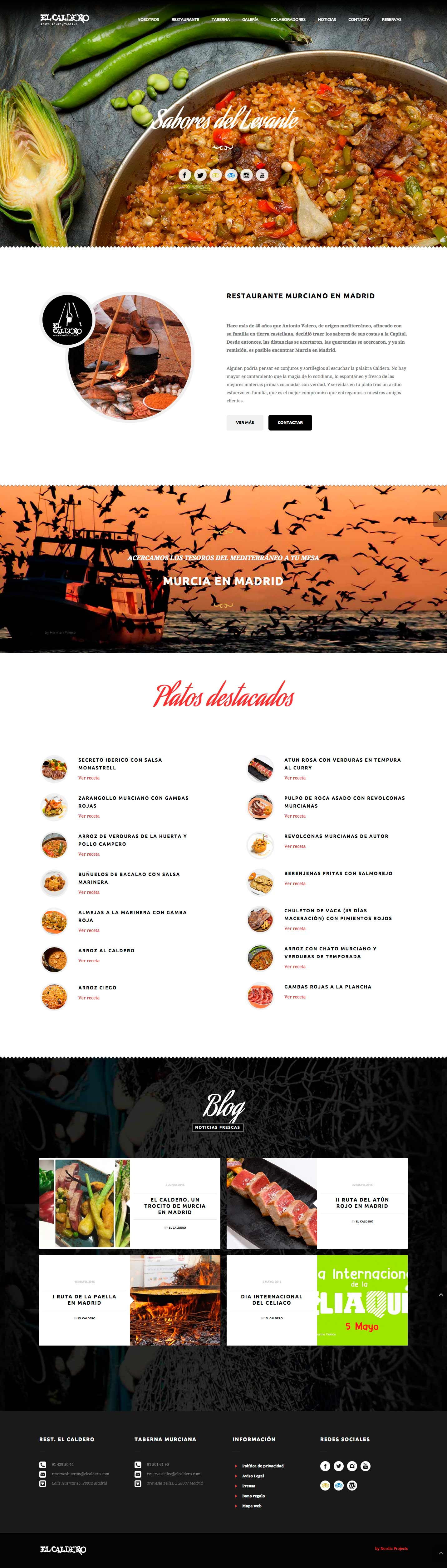 el caldero restaurante