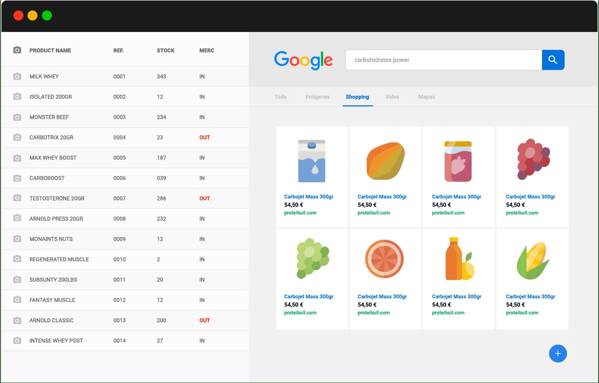 google shopping sabadell