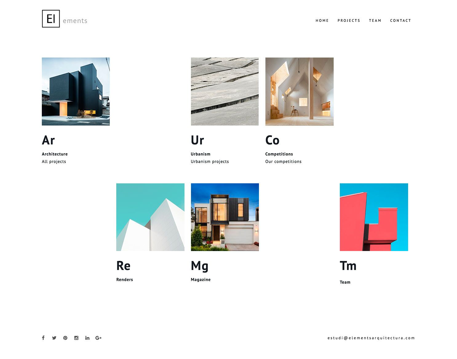 elements arquitectura