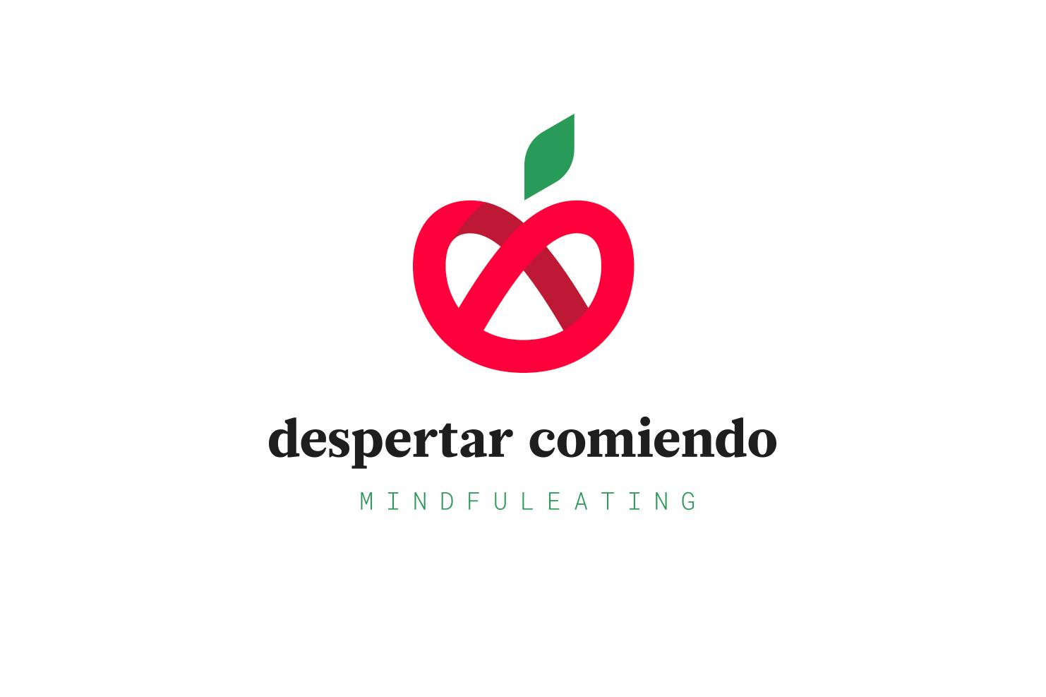 diseño logo despertar comiendo