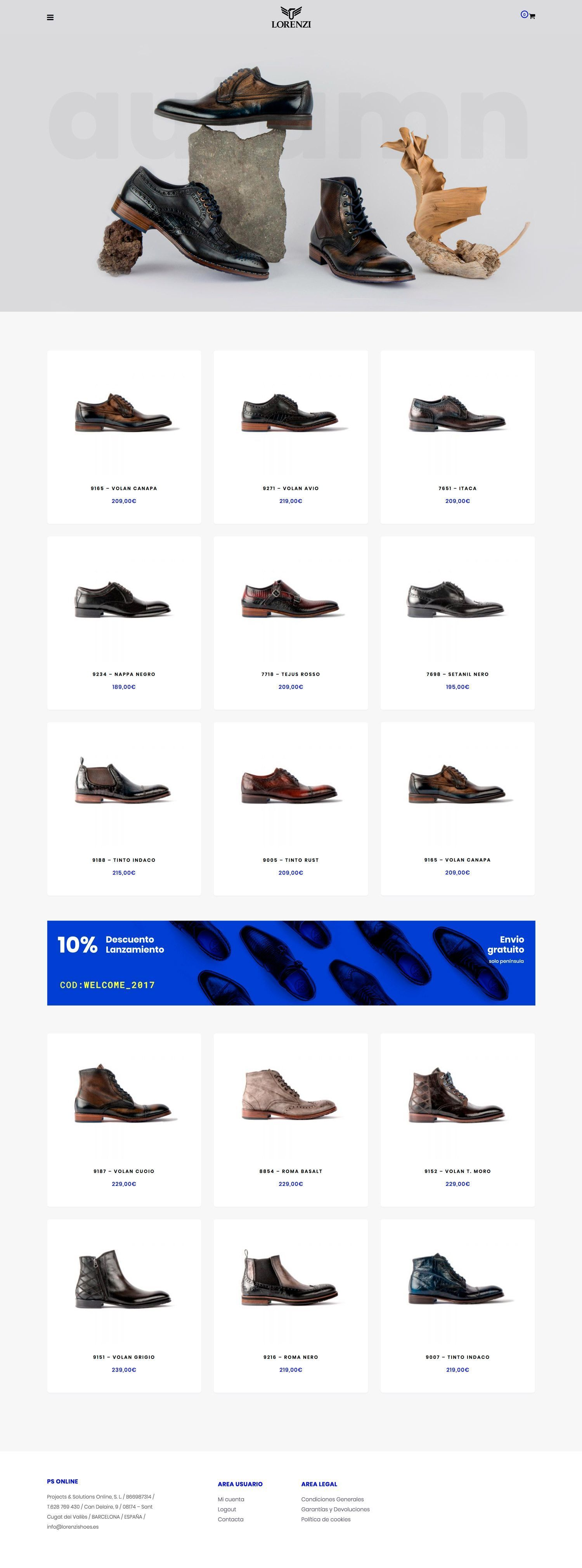 lorenzi homepage